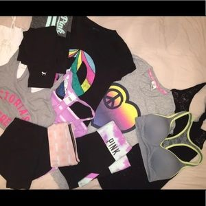 Vs Pink BUNDLE size small